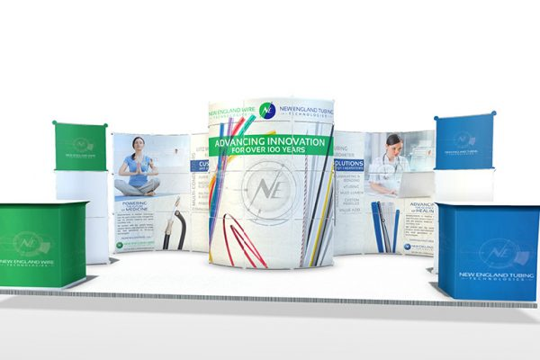 New England Wire and New England Catheter Tradeshow Booth