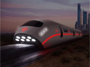 Maglev train with Litz wire by New England Wire Technologies